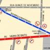 Avenida Vieira de Brito terá implantação de mão única