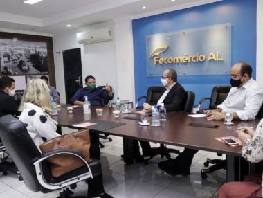Prefeitura e Fecomércio discutem Plano de Ação para uma possível retomada do comércio local