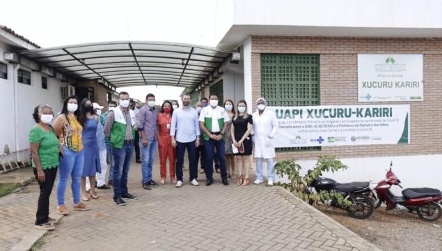 Prefeitura e SESAI inauguram UAPI em Palmeira dos Índios
