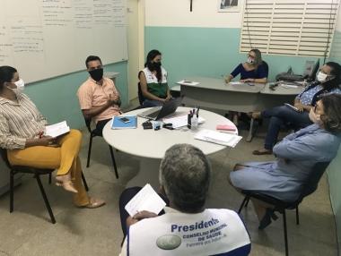 Comitê Técnico da Covid-19 discute estratégias para possível reabertura do comércio, em Palmeira