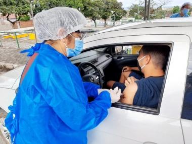 SMS imunizou mais de 500 pessoas contra o sarampo nesta semana, em Palmeira