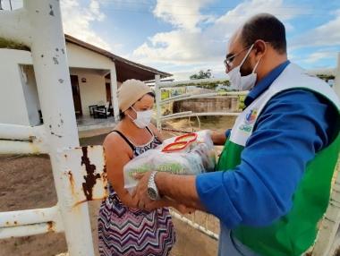 Prefeitura dá continuidade à distribuição de cestas básicas para famílias em situação de insegurança alimentar