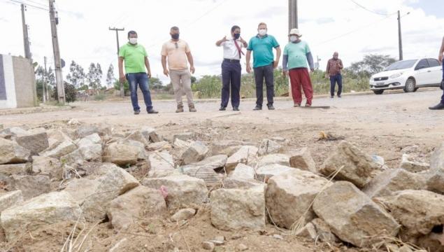 Ruas do Conjunto Edval Gaia receberão nova pavimentação