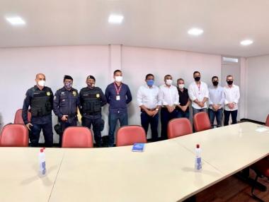 Júlio Cezar se reúne com Segurança Pública para capacitação da Guarda Municipal