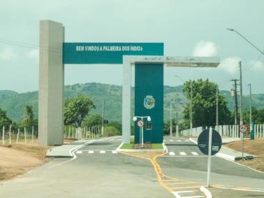Em inauguração de Portal Marx Beltrão diz que Palmeira também é a Capital Alagoana da Transformação