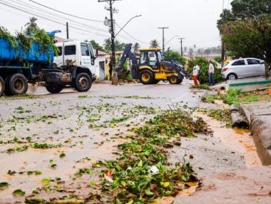 PSF Denilma Bulhões fecha para reparos após fortes chuvas em Palmeira