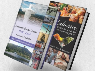 Secretaria de Cultura receberá Ana Clara Vieira de Vasconcelos para lançamento de livros em Palmeira