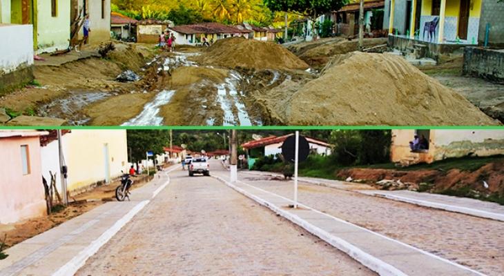 Prefeitura inaugura drenagem, pavimentação e iluminação no Povoado do Caldeirão de Cima