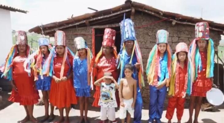 Reisado do Quilombo da Tabacaria é tema da campanhaAMO PALMEIRA #EUSOUDAQUI