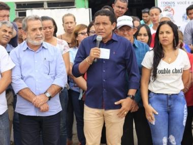 Prefeito Júlio Cezar faz abertura da 5ª edição do Programa Prefeitura em Ação na sua Comunidade
