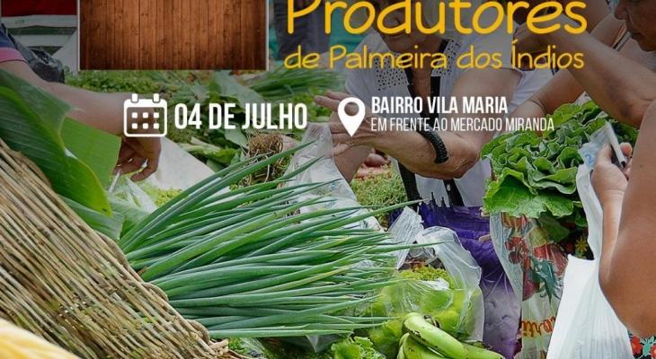 Prefeitura de Palmeira realizará 17ª Feira dos Produtores nesta quinta (4)