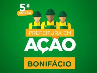 5ª edição do Programa Prefeitura em Ação na Sua Comunidade será nesta terça (16), no Bonifácio
