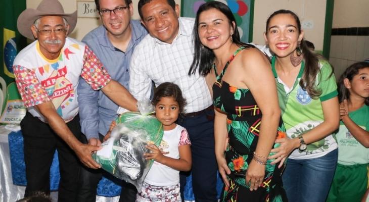 Prefeito anuncia construção de nova escola na zona rural do município