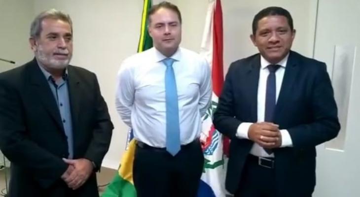 Júlio Cezar cumpre agenda de trabalho com Renan Filho, em Maceió