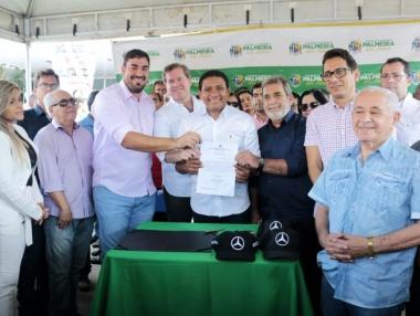 Prefeito Júlio recebe deputado Marx Beltrão e anuncia novos investimentos em Palmeira dos Índios