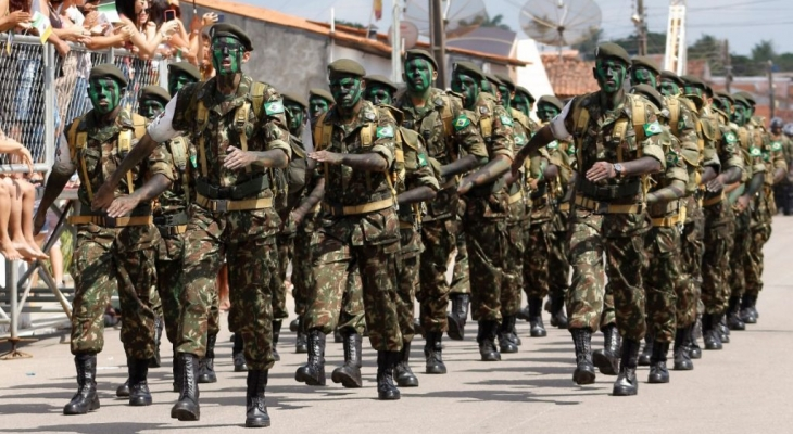 Parada Cívico-Militar no Dia da Independência será comemorada neste sábado (7)
