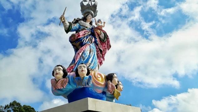 Prefeitura de Palmeira e Diocese confirmam data da inauguração do Santuário Mãe do Amparo