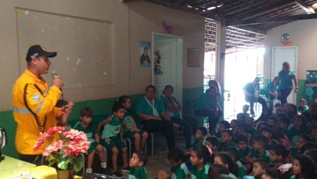SMTT inicia Semana do Trânsito com atividades nas escolas da rede municipal de ensino público