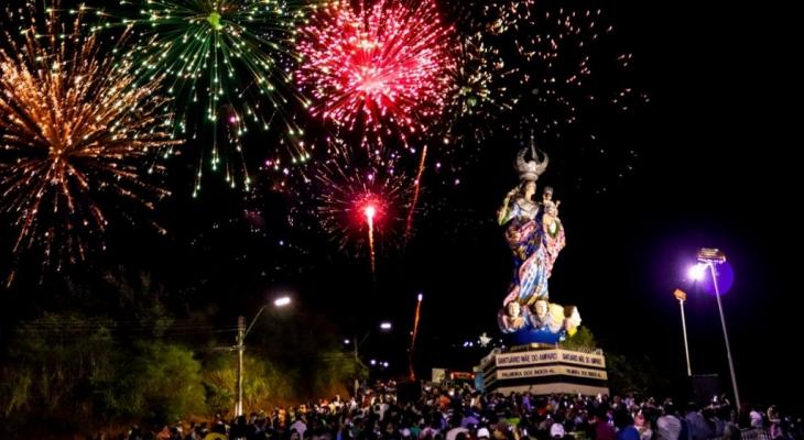 Emoção e fé marcam inauguração do Santuário Mãe do Amparo, em Palmeira