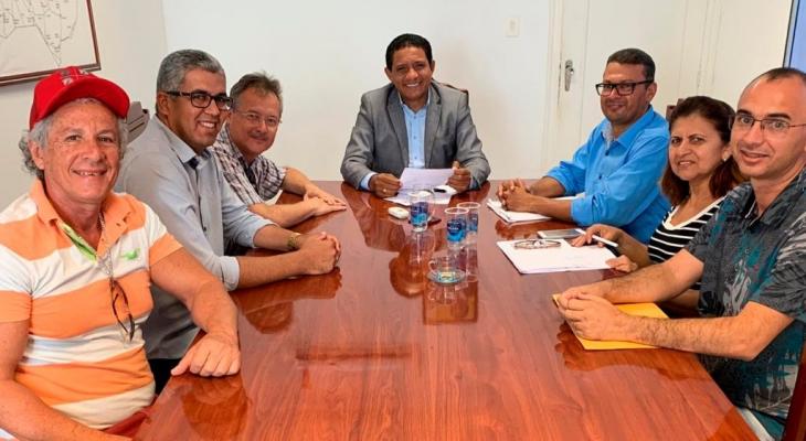Diretoria do CSE se reúne com prefeito Júlio Cezar