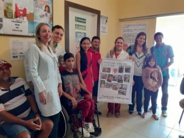 Deficientes físicos contam com equipe do Credefipi para reabilitação de qualidade
