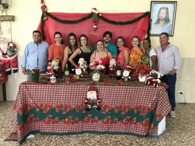 Credefipi comemora festejos natalinos com usuários e familiares, em Palmeira