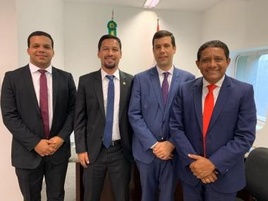 Prefeito Júlio Cezar cumpre agenda de trabalho em Brasília