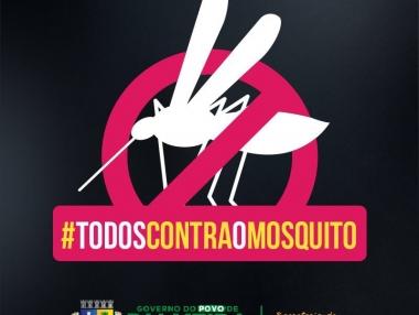 Secretaria de Saúde convoca a população no combate ao Aedes aegypti