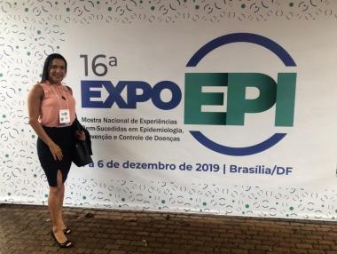 Enfermeira de Palmeira dos Índios é destaque no 16º Expoepi, em Brasília