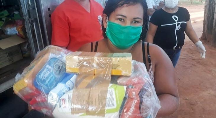 Programa de Segurança Alimentar chega a indígenas e quilombolas de Palmeira