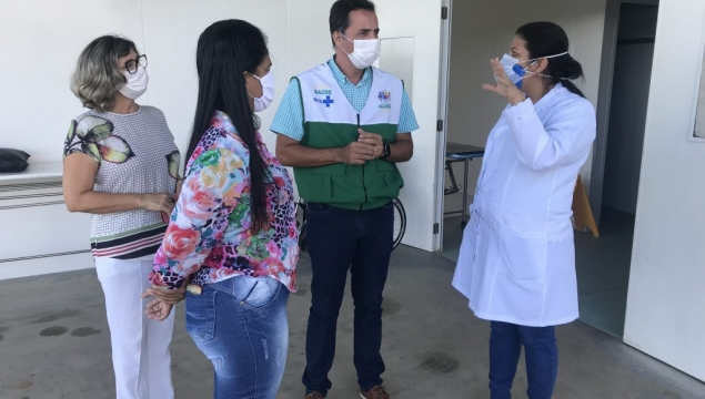 Secretário de Saúde acompanha últimos detalhes das obras de UCI na UPA
